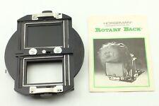 [Near Mint] Horseman Rotary Back + Manual For 980, 985, VH, VH-R etc From Japan