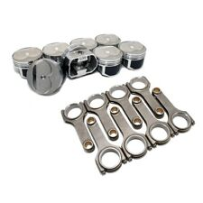 Wiseco PTS502A3 Pro Tru Pistons SBC 350 Dome .30 Over Bore W/ Scat H-Beam Rods