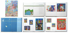 James Rizzi - The New York Paintings - Katalog, wichtige Publikation - 1996