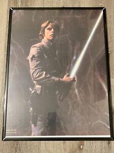 FRAMED Star Wars 1980 Poster 18x24 Luke Skywalker Lucasfilms Ltd 1980 Framed