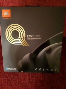 JBL E55BT Quincy Edition Wireless Over-Ear Headphones 1-Button Remote Sealed