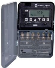 Digital Electronic Time Timer Switch 30 Amp 24-Hour SPST 2-Circuit Intermatic