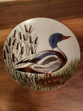 Blue Headed Duck Plate Sigma Taste Setter Nancie Goldstein 531 Porcelain