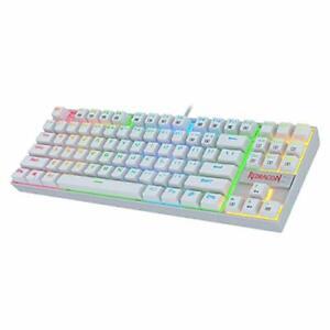 Redragon K552 Mechanical Gaming Keyboard 60% Compact 87 Key Kumara Wired Cher...