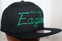 Philadelphia Eagles NFL Mitchell & Ness Team Name Snapback,Hat,Cap   $ 36.00 NEW
