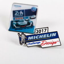 Michelin Bib Logo Challenge Design 2017 Enameled plus Michelin Le Mans 2030 Pin