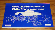 1965 Ford Thunderbird Electrical Assembly Manual 65