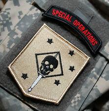 KANDAHAR WHACKER ISAF JSOC USMC FORCE RECON JTF SSI: MARSOC RAIDERS + DD SP OPS