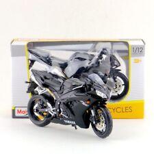1:12 Scale Maisto Black Yamaha YZF-R1 Racing Moto Diecast Motorcycles Model Toys