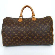 Authentic LOUIS VUITTON M41522 Monogram Speedy 40 SA851 junk Handbag PVC/lea...