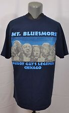 VTG Buddy Guy's Legends Chicago Mt Bluesmore Shirt Muddy Waters Sonny Boy XL