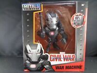 "Marvel Captain America Civil War Machine Die Cast Action Figure Legends 6"" New"