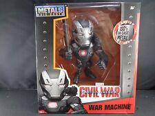 """Marvel Captain America Civil War Machine Die Cast Action Figure Legends 6"""" New"""