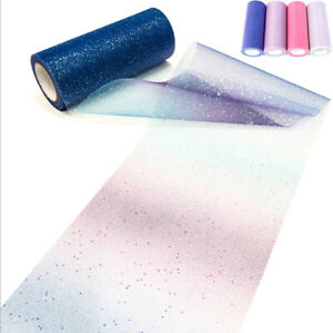 Arco iris tul rollo carrete tela cinta perno DIY tabla tutú falda artesanía