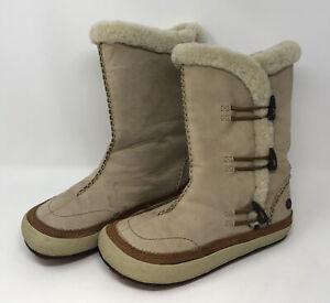 Merrell Komodo Spirit Tibet High Timber Winter Boots Insulated Womens Sz 8.5 AL