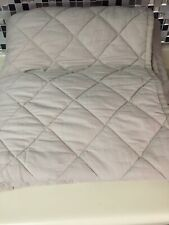 SC POTTERY BARN TEEN SOLID FINLEY QUILT - TWIN - Khaki & Stripe