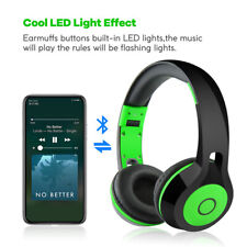 Bluetooth Wireless Headphone Hands Free Headset Foldable Noise Cancellation