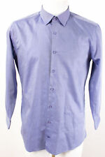 JOOP! Hemd Gr. 41 / 16 Slim Fit 100% Baumwolle klassisches Business Hemd
