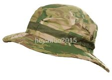 TACTICAL SWAT MILSPEC BOONIE HAT MILITARY SNIPER HUNTING FISHING CAP -multi-cam