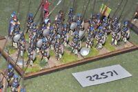 25mm Classical / macedonian - pikemen 29 figures - inf (22571)