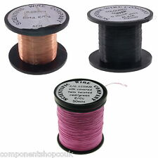 40 29awg 008 028mm Copper Solderable Enamelled Pencil Magnet Coil Wire Uk
