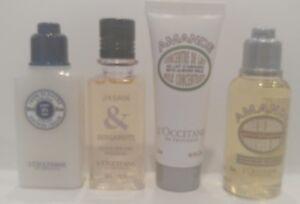 New L'Occitane Set -Almond Oil & Milk, Jasmin Bergamote, & Shea Shower !