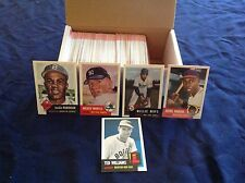 1991 TOPPS 1953 ARCHIVES BASEBALL CARD SET-MICKEY MANTLE+1952 RPT.BOWMAN MANTLE