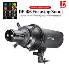 JINBEI DP-6 Focusing Optical Spotlight Snoot 90-150mm Zooming Lens Bowens Mount