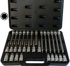 30tlg Innen-Sechskant (+15%) Steckschlüssel-Satz, 5-19mm Bit-Einsatz Inbus Imbus
