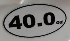 40.0oz Marathon Sticker 13.1 26.2 sublime colt 45 old english malt liquor