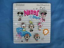 NERDS  Disney  Pin  SET of 7 Full body  New on card 2010  CUTE !!