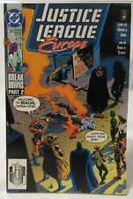 Justice League Europe 29 August 1991