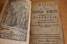 La Biblia lutherbibel las sagradas escrituras rareza 1826 Frankfurt/teología/relig