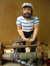 """Old Salts Nautical Figurine """"Pulling Up Anchor� 1999"""