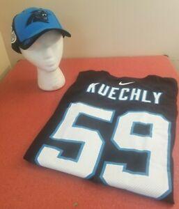 Carolina Panthers NFL Nike Classic Black Luke Kuechly #59 3XL T-Shirt & Cap Set
