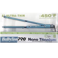 "Babyliss Pro Nano Titanium Ulter thin Flat Iron 2"""