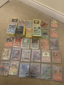 Lot of 50 Assorted Pokemon Cards Genuine Authentic - NM/LP 1999-2020 Cards