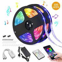 1m-10m 3528/5050 LED Stripe RGB Leiste Streifen Mehrfarbig Leuchte Lichterkette/