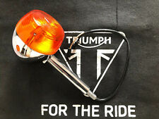 Triumph Thunderbird 900 Chrome Front Indicators X2 T2700285/6 Legend/Adventurer