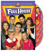FULL HOUSE - COMPLETE SEASON 6 - DVD - UK Compatible - New & sealed