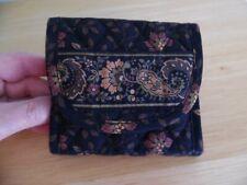 Vera Bradley Pocket Wallet in Black Walnut, Excellent Condition