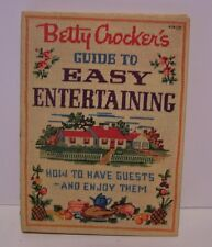 Betty Crocker's Guide Easy Entertaining Cook Recipe General Mills 1st Ed 2nd Prt