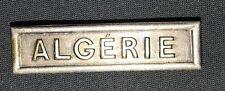 Agrafe Algérie médaille coloniale variante Marie Aubert.