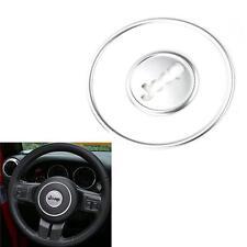 Silver Steering Wheel Cover Decorative Center Mark Trim For Jeep Wrangler
