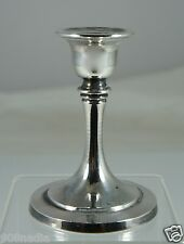 VINTAGE SILVER PLATED CANDLESTICK/ HOLDER 4'' TALL BY ONEIDA USA
