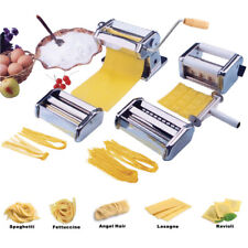 5-in-1 Stainless Steel Pasta Lasagne Spaghetti Tagliatelle Ravioli Maker Machine