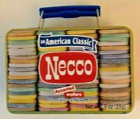 Vintage 2007 Necco Mini Metal Tin Lunch Box 420 Container Dope