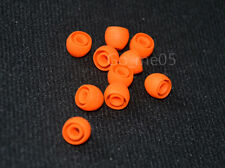 20X orange round earbud ear buds replacement tips for earphones size L