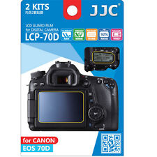 JJC LCP-70D polycarbonate LCD Film Screen Protector Canon EOS70D 70D