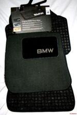 2001 TO 2005 BMW 325i Sedan Carpeted Floor Mats - GENUINE FACTORY OEM - BLACK